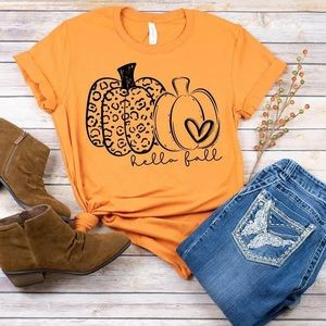Fall t-shirt, graphic tee